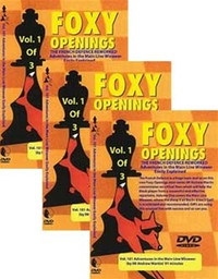Foxy 101-103: The French Defense Reworked (3 DVDs) - Chess Opening Video DVD