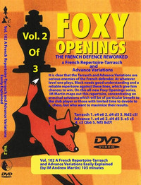 Foxy 102: The French Defense Reworked (Part 2) - Chess Opening Video DVD