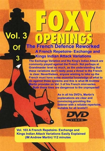 Foxy 103: The French Defense Reworked (Part 3) - Chess Opening Video Download