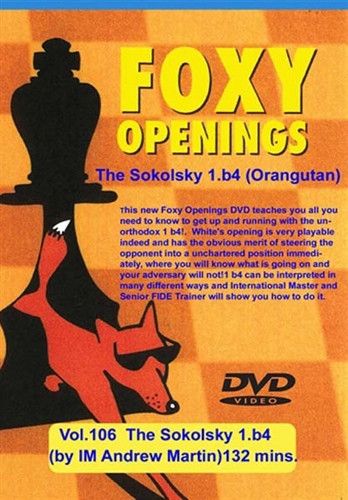 Foxy 106: The Sokolsky Opening with 1.b4 - Chess Opening Video Download