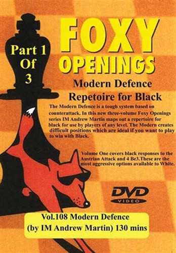 Foxy 108: The Modern Defense (Part 1) - Chess Opening Video Download