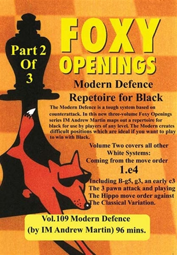 Foxy 109: The Modern Defense (Part 2) - Chess Opening Video Download