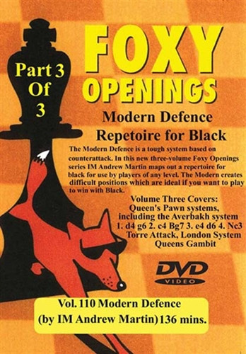 Foxy 110: The Modern Defense (Part 3) - Chess Opening Video Download