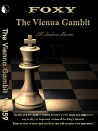 Foxy 159: The Vienna Gambit (1.e4 e5 2.Nc3 Nc6 3.f4) - Chess Opening Video DVD