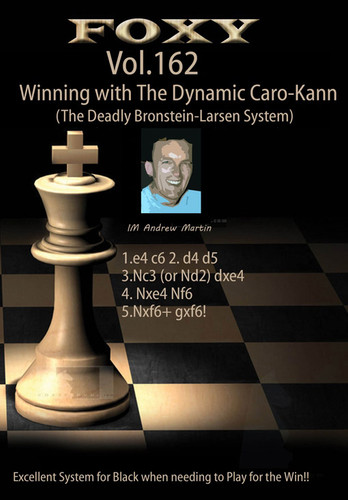 Foxy 162: Winning with the Dynamic Caro-Kann Defense - Chess Opening Video DVD