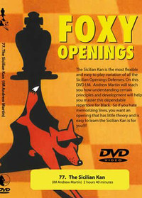 Foxy 77: The Sicilian Defense, Kan Variation - Chess Opening Video DVD