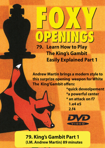 Foxy Chess Openings,  79: How to Play the King's Gambit, Part 1Chess Download
