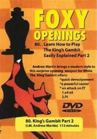 Foxy Chess Openings,  80: How to Play the King's Gambit, Part 2 Chess Download