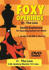 Foxy 81: The Lion, A Repertoire for Black - Chess Opening Video Download