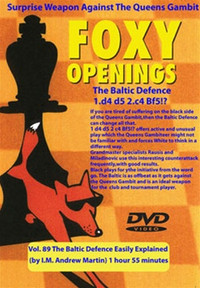Foxy 89: The Baltic Defense Easily Explained - Chess Opening Video DVD