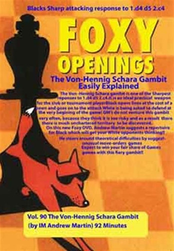 Foxy 90: The Von-Hennig Schara Gambit Easily Explained - Chess Opening Video Download