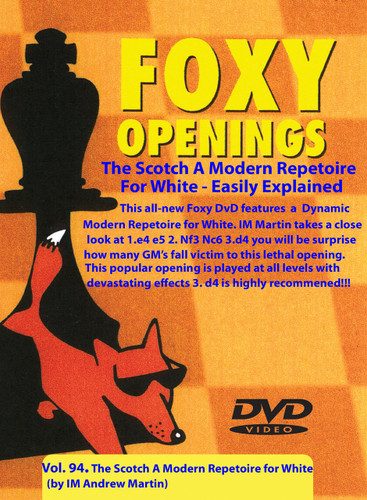 Foxy 94: A Scotch Game Repertoire for White - Chess Opening Video Download