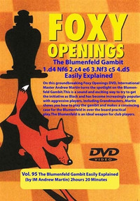 Foxy 95: The Benoni Defense, Blumenfeld Gambit - Chess Opening Video Download