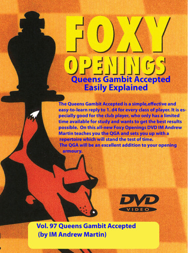 Foxy 97: The Queen's Gambit Accepted for Black - Chess Opening Video Download