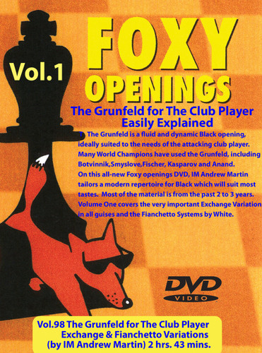 Foxy 98: The Grunfeld Defense (Part 1) - Chess Opening Video Download