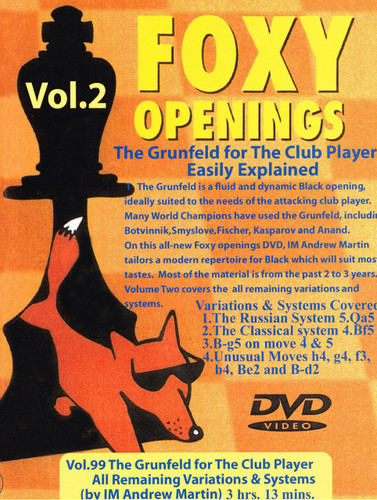 Foxy 99: The Grunfeld Defense (Part 2) - Chess Opening Video Download
