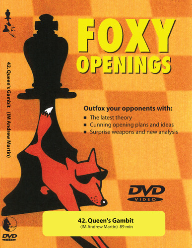 Foxy 42: The Queen's Gambit Declined, Exchange Variation - Chess Opening Video DVD