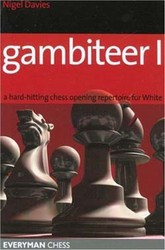Gambiteer I: A Repertoire for White - Chess Opening Print Book