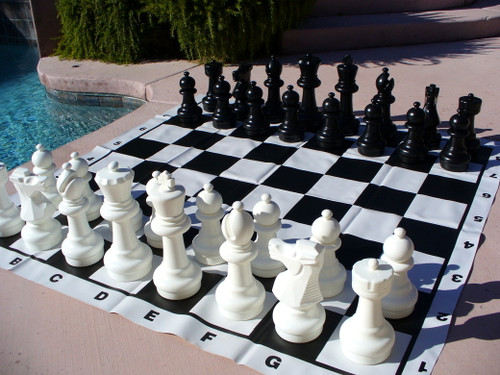 giant 12 inch chess set