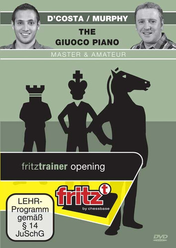 The Giuoco Piano: Master & Amateur - Chess Opening Software on DVD