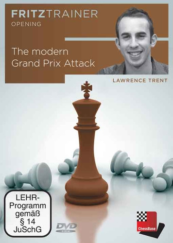 The Modern Grand Prix Attack - Chess Opening Software on DVD