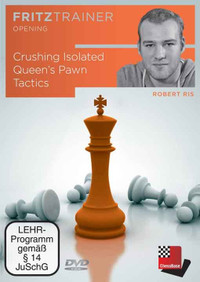 Crushing Isolated Queen's Pawn Chess Tactics