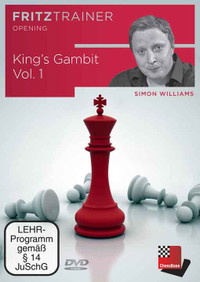 The King's Gambit, Vol. 1 - Chess Opening Trainer on DVD