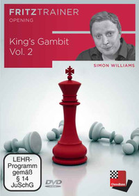 The King's Gambit, Vol. 2 - Chess Opening Trainer on DVD