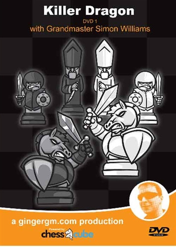 Sicilian Defense: The Killer Dragon (2 DVDs)- Chess Opening Video DVD