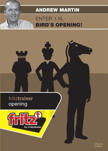 Enter 1.f4: Bird's Opening! - Chess Opening Software on DVD