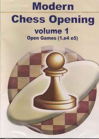 Modern Chess Openings, Vol. 1: Open Games - Chess Opening Software on CD