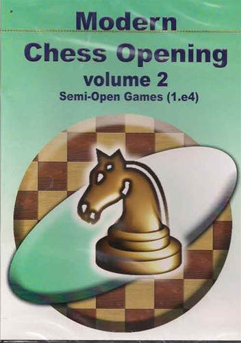 Modern Chess Openings, Vol. 2: Semi-Open Games - Chess Opening Software on CD