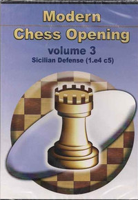 Modern Chess Openings, Vol. 3: Sicilian Defense - Chess Opening Software on CD