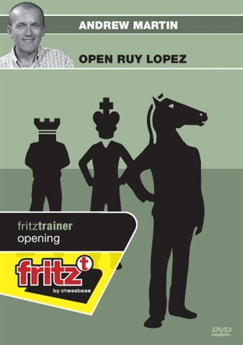 The Open Ruy Lopez - Chess Trainer Software on DVD
