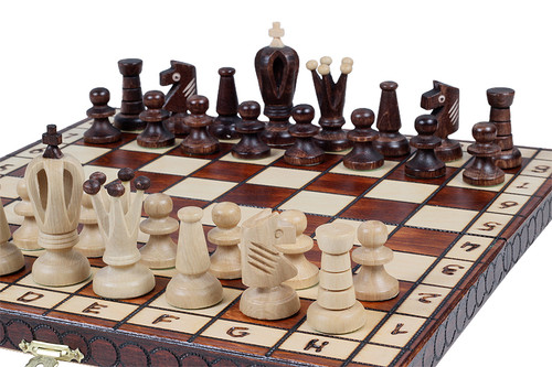 The Lada - Unique Wood Chess Set, Pieces, Board & Storage