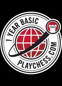Playchess.com Membership - Basic One Year Plan