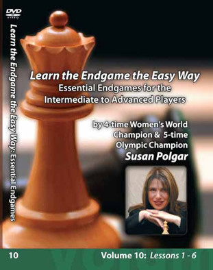 Susan Polgar, 10: Essential Endgames for the Intermediate to Advanced Player DVD