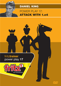 Power Play 17: Attack with 1.e4 (Part 1) - Chess Opening Software on DVD