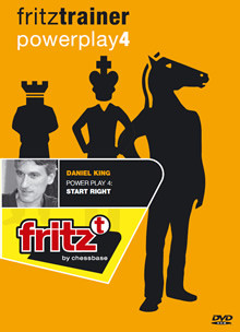 Power Play 4: Start Right - Chess Opening Software on DVD