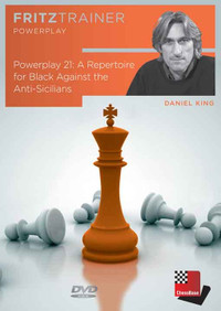 Power Play 21: A Repertoire for Black against the Anti-Sicilians - Chess Opening Software DVD