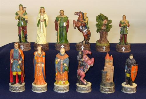 Robin Hood Chess Pieces
