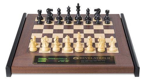 DGT Revelation II E-Board and Chess Computer with Classic lPieces