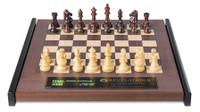 DGT Revelation II E-Board and Chess Computer with Royal Pieces