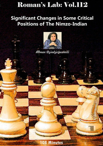 Roman's Lab 112: Critical Positions in the Nimzo-Indian - Chess Opening Video DVD
