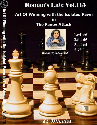 Roman's Lab 115: Winning with the Panov-Botvinnik Attack - Chess Opening Video DVD
