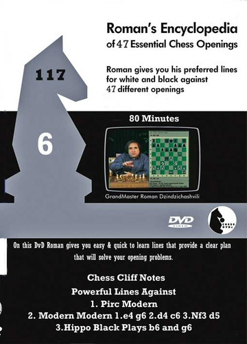 Roman's Lab 117: Encyclopedia of Chess Openings (Vol. 6) - Chess Opening Video DVD