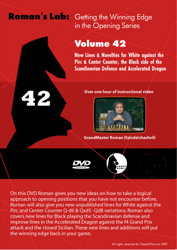 Roman's Lab 42: New Lines and Novelties for White - Chess Opening Video DVD
