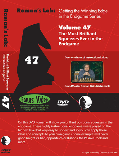 Roman's Chess Labs:47, Winning Edge in the Endgame - Brilliant Squeezes Ever in the Endgame