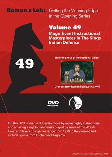Roman's Lab 49: Masterpieces in the King's Indian Defense - Chess Opening Video Download