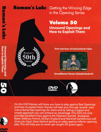 Roman's Lab 50: Exploiting Unsound Chess Openings - Chess Opening Video DVD